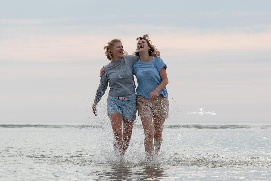 Schwestern Fotoshooting